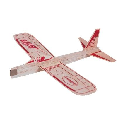 Jet Fire Balsa Glider Boxed - Schylling Toys
