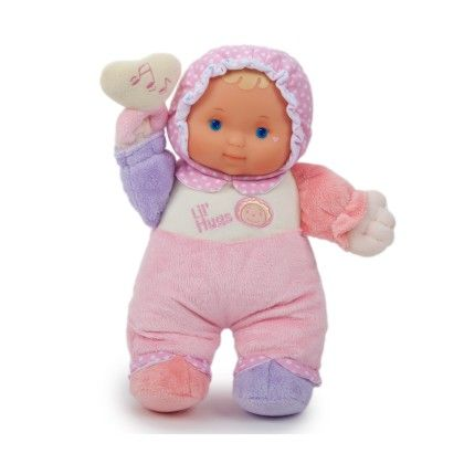 Baby's First Soft Doll With Rattle - JC Toys