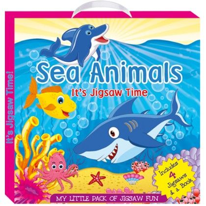 Art Factory - Sea Animals (my Little Pack Of Jigsaw Puzzle)
