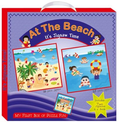 Art Factory - At The Beach (my First Box Of Puzzle Fun)