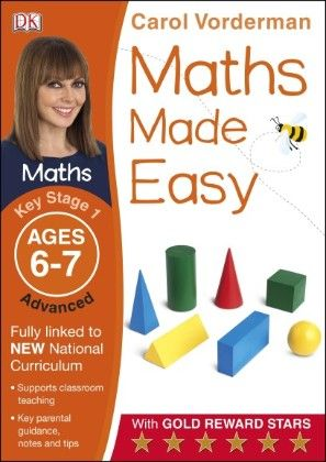 Maths Made Easy Ages 6-7 Key Stage 1 Advanced - DK Publishers