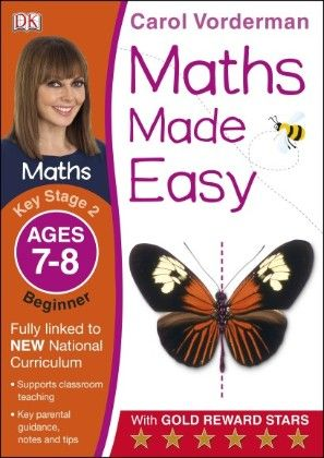 Maths Made Easy Ages 7-8 Key Stage 2 Beginner - DK Publishers
