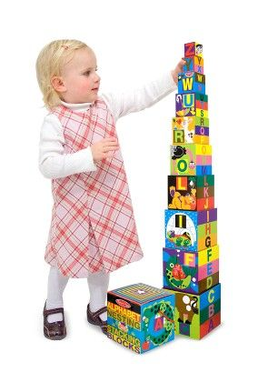 Alphabet Nesting And Stacking Blocks (uc) - MELISSA & DOUG
