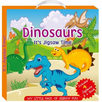 Art Factory - Dinosaurs (my Little Pack Of Jigsaw Puzzle)
