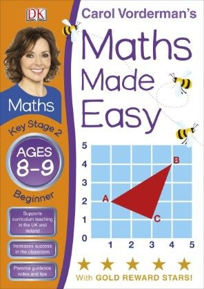 Maths Made Easy Ages 8-9 Key Stage 2 Beginner - DK Publishers