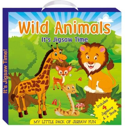 Art Factory - Wild Animals (my Little Pack Of Jigsaw Puzzle)