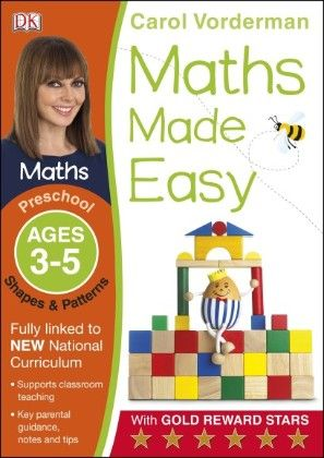 Maths Made Easy Shapes And Patterns Preschool Ages 3-5 - DK Publishers