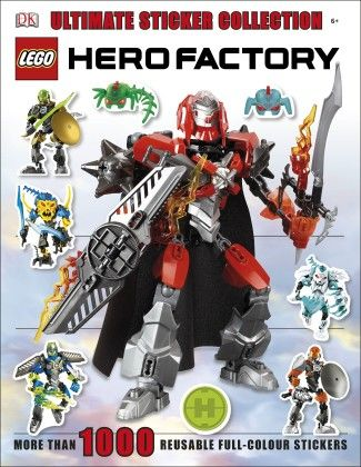 Lego Hero Factory Ultimate Sticker Collie - DK Publishers
