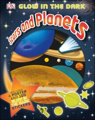 Glow In The Dark Stars And Planets - DK Publishers