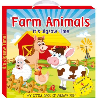 Art Factory - Farm Animals (my Little Pack Of Jigsaw Puzzle)
