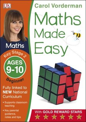 Maths Made Easy Ages 9-10 Key Stage 2 Beginner - DK Publishers