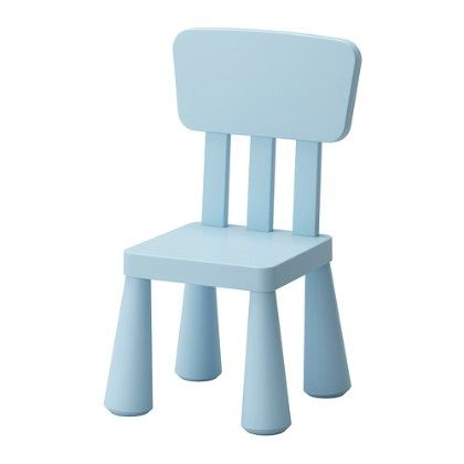 Children's Chair- Light Blue Indoor/outdoor - Light Blue - Home Essentials