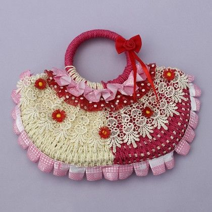 Cute Bags With Adorable Designs On Both Sides- Fuchsia - Cute Delights