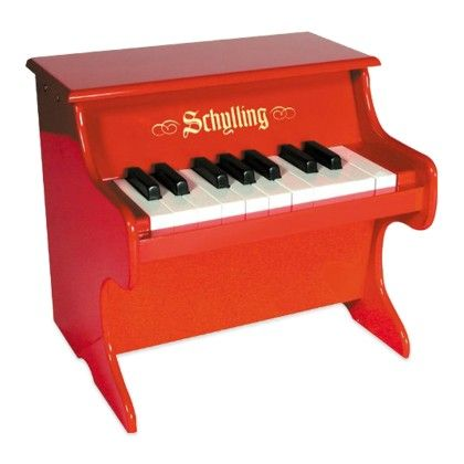 Mini Red Piano - Schylling Toys