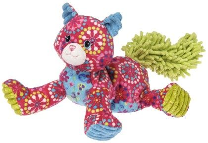 "Print Pizzazz Raspberry Kitty - 10"" - Mary Meyer"
