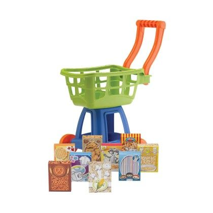10 Pieces Market Cart - American Plastic Toys