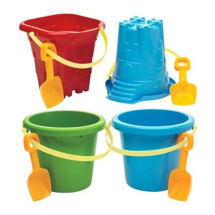 Jumbo Pail, Mold & Shovel Asst. - American Plastic Toys