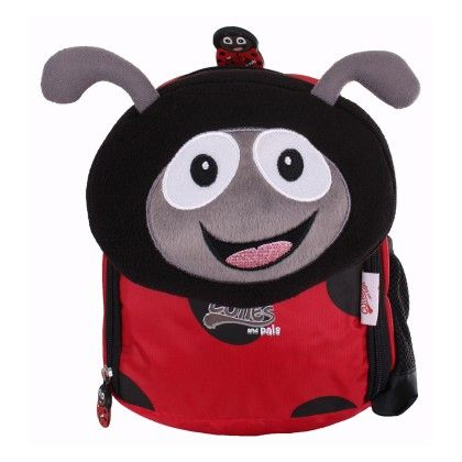 Polka The Ladybird - Soft Nursery Backpack - Cuties & Pals