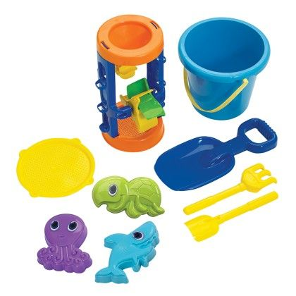 Sand Castle Building Assortment - American Plastic Toys