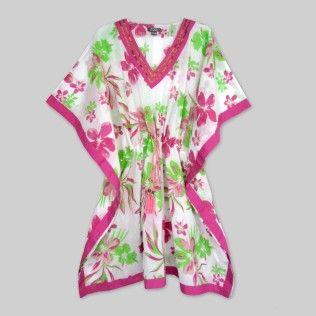 Green-Pink Aloha Floral Women