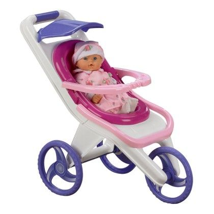 3 In 1 Stroller - American Plastic Toys