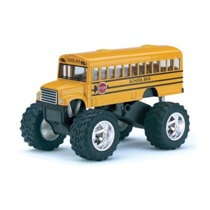 Die-cast Big Wheel School Bus - Schylling Toys