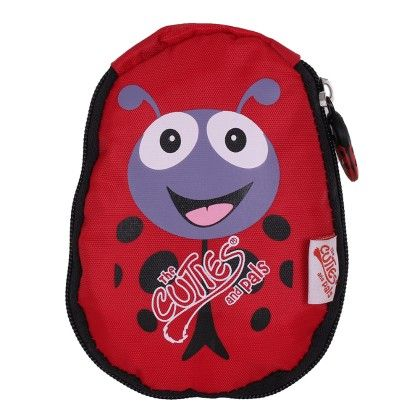 Polka The Ladybird - Soft Foldable Backpack - Cuties & Pals