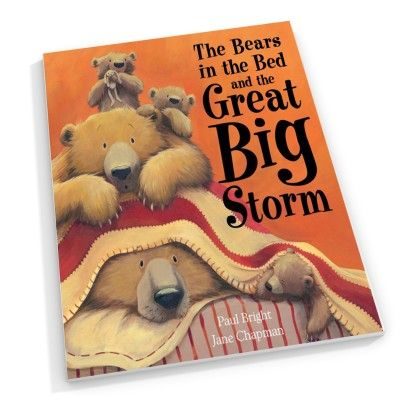 The Bears In The Bed And The Great Big Storm - Little Tiger
