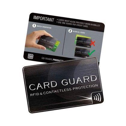 Rfid (radio Frequency Identification) Card Guard - Go Travel