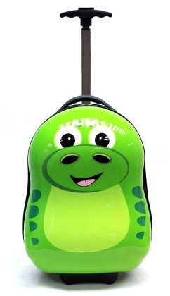"P-rex The Dinosaur - 17"" Hard Trolley Case - Cuties & Pals"