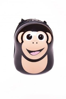 "Cheeki The Chimp - Hard Shell 13"" Backpack - Cuties & Pals"