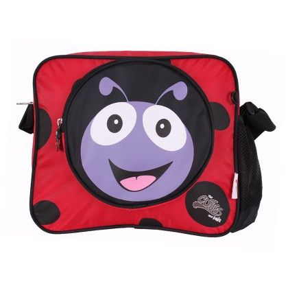 Polka The Ladybird - Soft Shoulder Bag - Cuties & Pals
