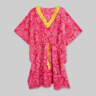 Pink Batik Print Women