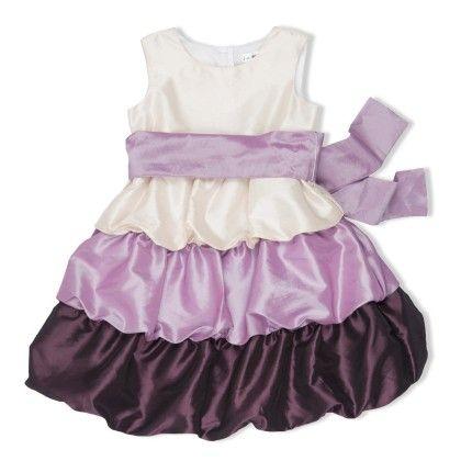Color Black Bubble Dress - Joe Ella