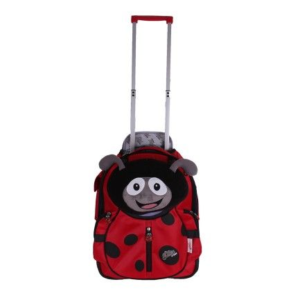 Polka The Ladybird - Soft Trolley Case - Cuties & Pals