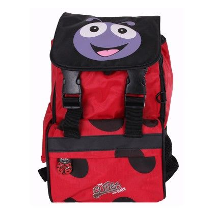 Polka The Ladybird Soft Small Rucksack - Cuties & Pals