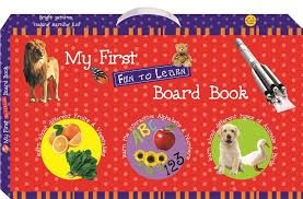 Art Factory - My First Fun To Learn Board Book Box - Red (set Of 6 Books)