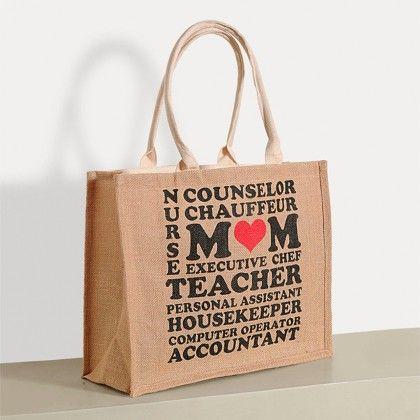 Swayam Zora Jute Shopping Bag, With Nice Graffittis-2