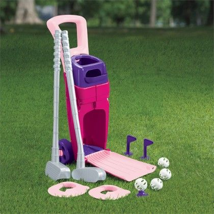 Junior Pro Girl's Golf Set - American Plastic Toys