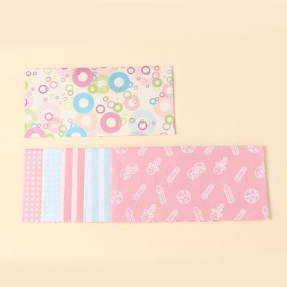 Baby Print Envelopes - Pack Of 6 - Velvetise