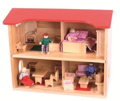 Complete Dolls House - Big Jig Toys