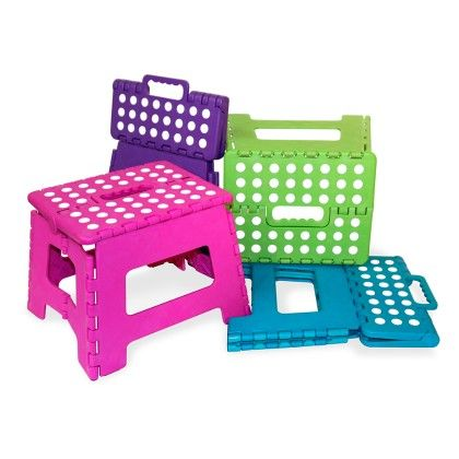 Small Folding Stool - Assorted (1 Unit) - HDS