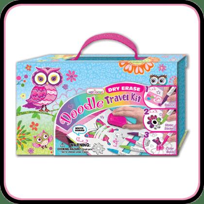 Let's Doodle Dry Erase Kit - Owl Fox - Hot Focus Toys