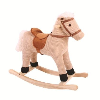 Cord Rocking Horse - Big Jig Toys