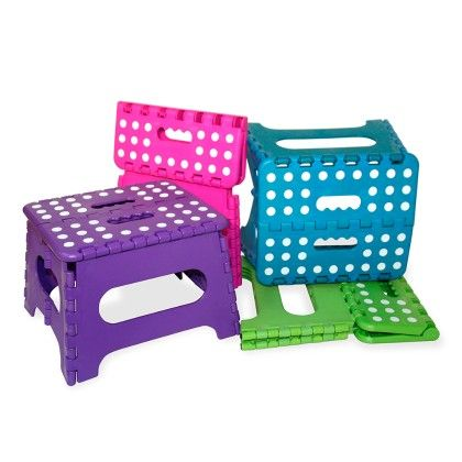 Medium Folding Stool - Assorted (1 Unit) - HDS