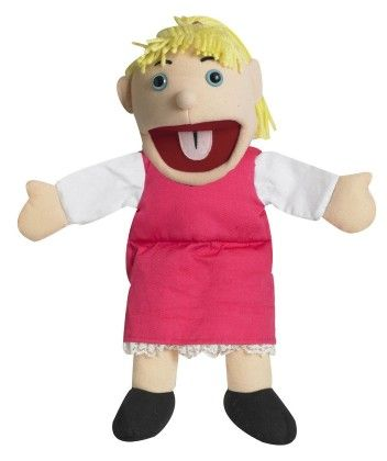 Ethnic Children Puppets - Girl - Light Tone - The Children's Factory