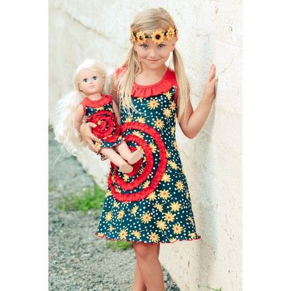 Shelley Dress - Flower Power - Lilli LoveBird