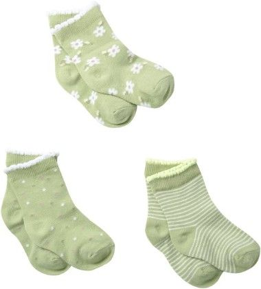 Ditsy Daisy 3 Pack- Sage - Country Kids
