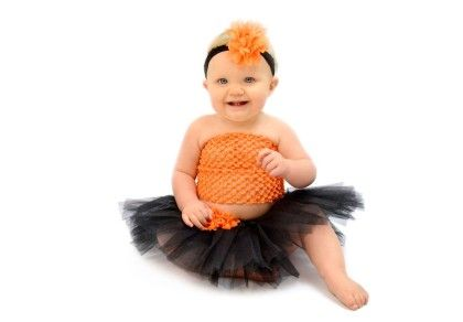 Black & Orange Tutu Set - Dress Up Dreams