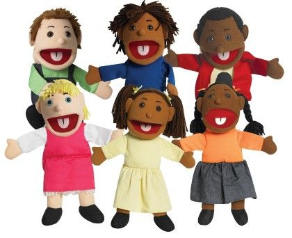Ethnic Children Puppets - The Children's Factory